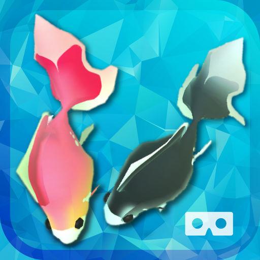 ヒーリング アクアリウム VR - 金魚 -